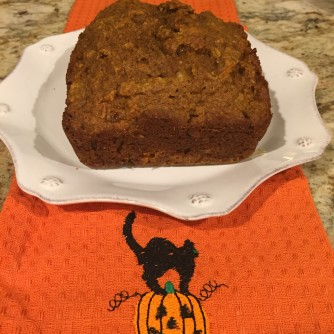 Healthy GREEK pumpkin bread :)